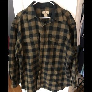 Woolrich XL Flannel, Color: Twig Buffalo